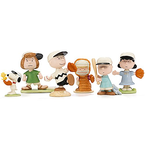 Peanuts Snoopy Baseball (Lenox Peanuts Baseball Team Set of 6 - Snoopy)