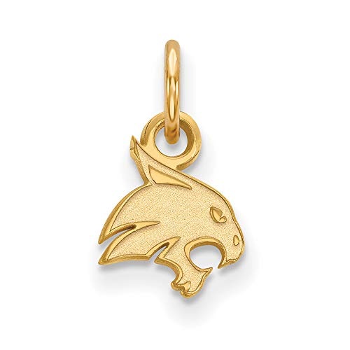 Texas State Extra Small (3/8 Inch) Pendant (14k Yellow Gold) ()