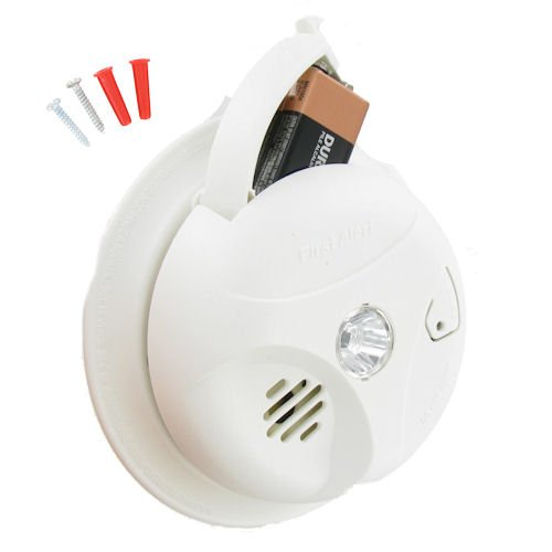 3 Pack Bundle of Escape Light Smoke Alarm