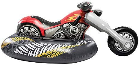 Intex Flotador, Moto Custom, Multicolor (57534): Amazon.es: Juguetes y juegos