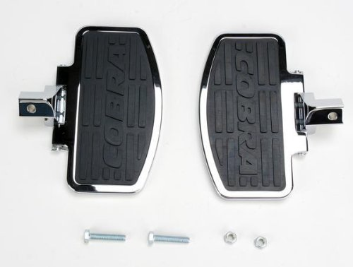Cobra Boulevard Front Floorboard (Cobra Front Driver Floorboard Kit for Honda Valkyrie Goldwing)
