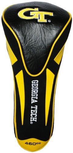 NCAA Georgia Tech Yellow Jackets Single Apex Driver Head Cover (Georgia Tech Headcovers)