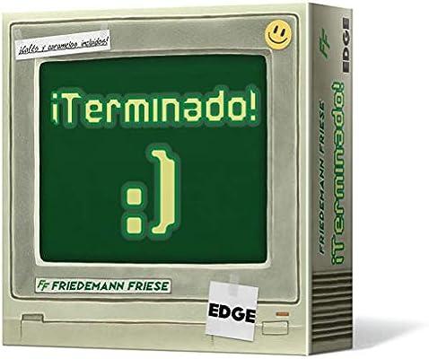 Edge Entertainment-¡Terminado-Juego de mesa (EE2FFH01) , color/modelo surtido: Amazon.es: Juguetes y juegos