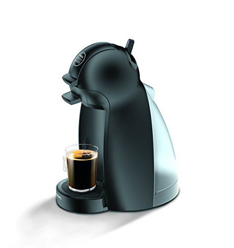 Krups Dolce Gusto Piccolo - Cafetera, 1500 W, negra mate