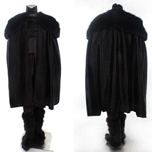 CosplayDiy Men's Costume for Game of Thrones Jon Snow Cosplay MTM (Game Of Thrones Mens Costumes)
