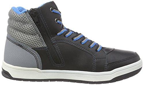 s.Oliver 46102 - zapatillas deportivas altas de material sintético niños negro - negro
