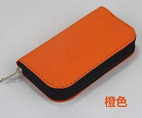 Memory Card Bag Memory Card Bag Rose red RICISUNG Camera SD Phone Cf Card Bag with 22-bit Card