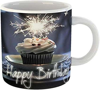 Surprising Buy Pehal Mart Happy Birthday Cake Ceramic Coffee For Friend Birthday Cards Printable Benkemecafe Filternl