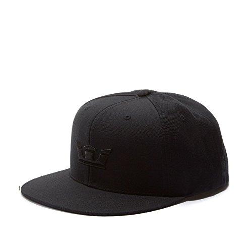 (Supra Men's Icon Snapback Hat Black One Size)