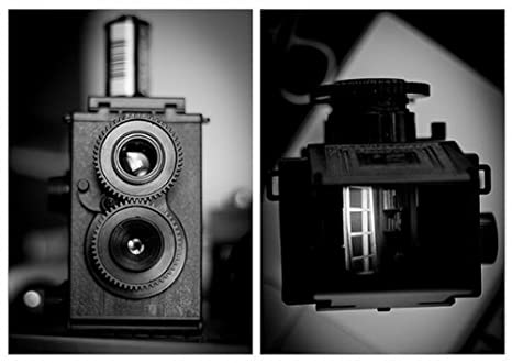 Recesky gran Navidades y Año Nuevo regalo Lomo doble lente reflex ...