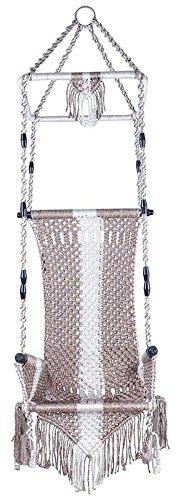 Aryan jhula Hanging Home Swing (135 Cm X 57 Cm X 43 Cm)