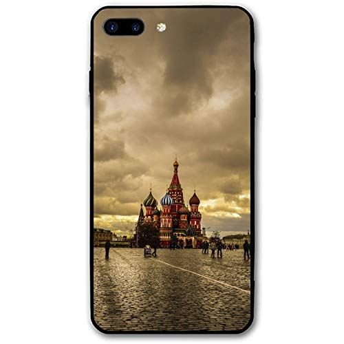 iPhone 8 Plus Case, Moscows for Girls Women Best Protective Rubber Slim Fit Thin Phone Case Compatible for iPhone 8 Plus