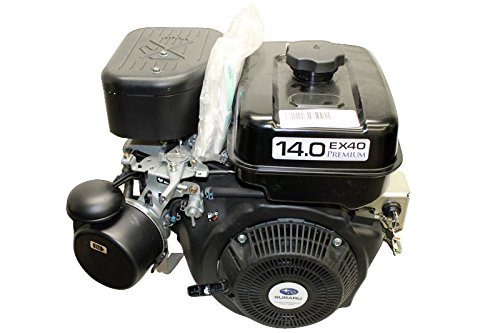 "14hp Horizontal 1"" x3-21/32 Shaft OHC, Electric & Recoil Start, 10 Amp Alt, Fuel Tank, Robin America Engine"