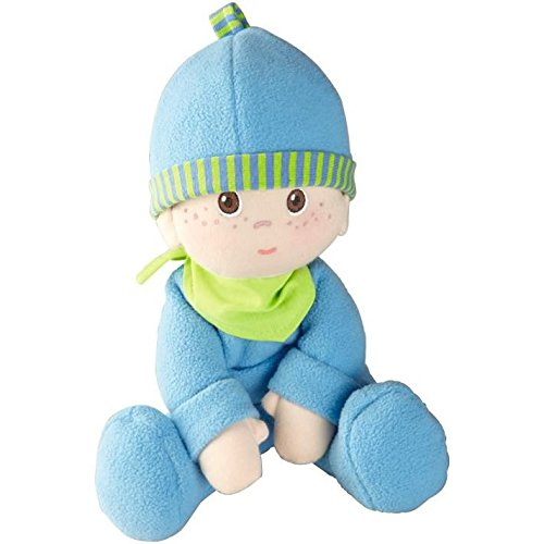 "HABA Snug-up Doll Luis 9"" First Boy Baby Doll - Machine Wash"