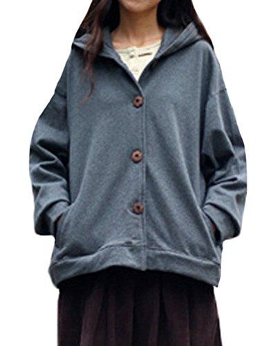 MatchLife - Abrigo - para mujer gris