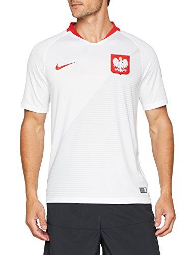 Nike Mens POL M NK BRT STAD JSY SS HM 893893-100_M - White/Sport RED/Sport RED