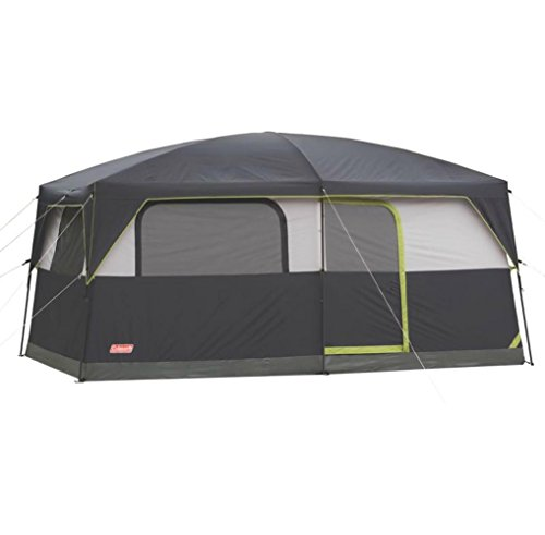 COLEMAN Prairie Breeze 9 Person WeatherTec Camping Tent w/Fan & Light | 14 x 10' -  2000008055