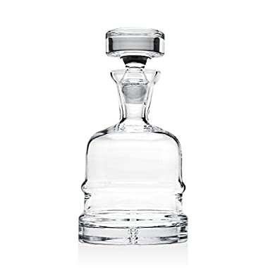 Godinger Silver Art Carlisle Collection Crystal Whiskey Decanter With Stopper