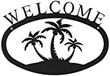 11 Inch Palm Trees Welcome Sign Small
