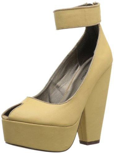 Michael Antonio Dames Aliza Open-toe Pump Natural