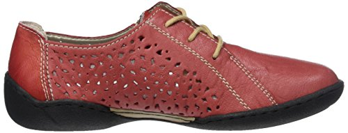 58825 Scarpe Rosso Rosso Rot Stringate Rieker Derby Donna qSaqwd