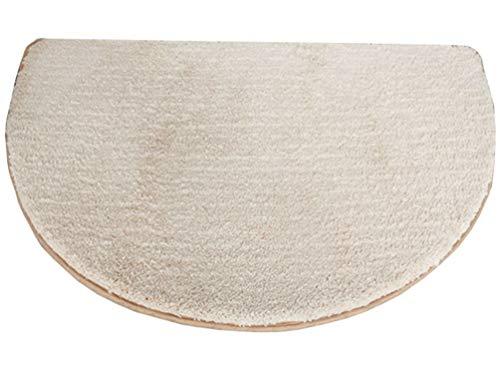 (ZebraSmile Semicircle Home Entrance Doorway Mat Door Mat Entry Doormat Entryway Half Moon Door Mat Door Carpet for Bedroom Indoor Halfmoon Mat Non Slip Back 19.5 X 31.5IN)