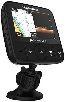 Raymarine Dragonfly 5 Pro Navionics+ Dual Channel Sonar/GPS from Raymarine