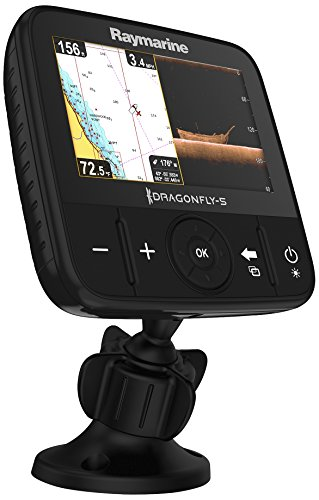 Raymarine Dragonfly 5 Pro Navionics+ Dual Channel Sonar/GPS Fish Finders And Other Electronics Raymarine