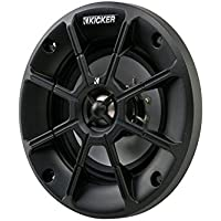 Kicker PS44 (40PS44) 4 2-Way PS Series 4 Ohm Coaxial Power-Sport Speakers