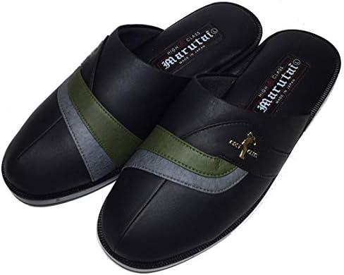 コンフォートサンダル メンズ 軽量 Marutai サンダル ヘップサンダル 防寒サンダル 日本製 軽い 靴 防寒 つっかけ オフィス履き 男性 紳士