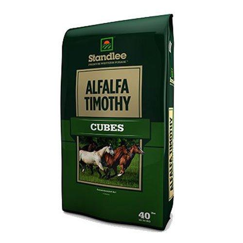 (Standlee Hay Company Alfalfa/Tim Cubes, 40 lb)