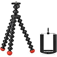 Joby Magnetic Tripod with Universal Smartphone Tripod Mount Adapter for Point and Shoot, Compact System Cameras, Action Cameras and Smartphones