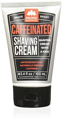 Pacific Shaving Company Caffeinated Shaving Cream, 1 Pack