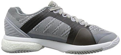 adidas Asmc Barricade Boost, Zapatillas de Tenis para Mujer Gris / Negro (Mister / Univer / Blanco)
