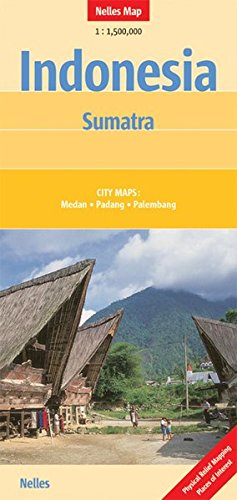 Read Online Sumatra, Indonesia Nelles Map (English, French and German Edition) pdf epub