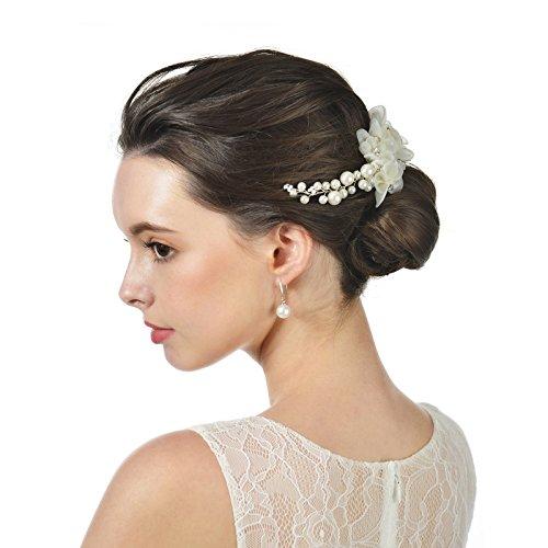 Bridal Floral Veil - 7