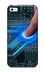 Fashion FAczpsQ3566RkqDW Case Cover For Iphone 5c(circuit)