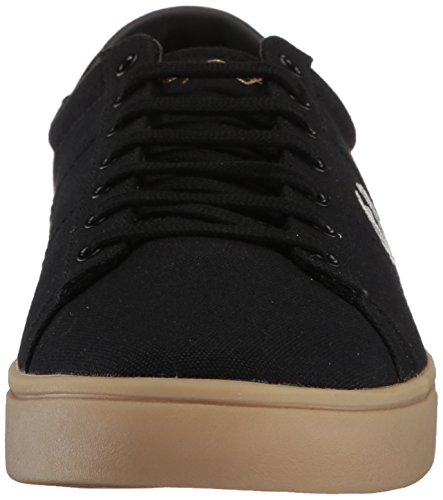 Sneaker Black Fred Spencer Perry Canvas 4BOAO8