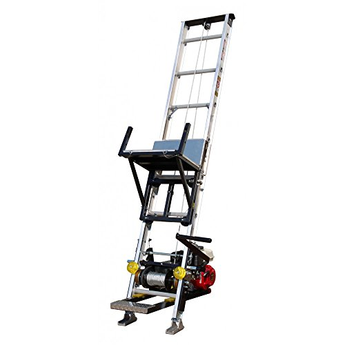 TranzSporter TP4000 - 400lb. 28ft. Ladder Hoist - Electric Motor
