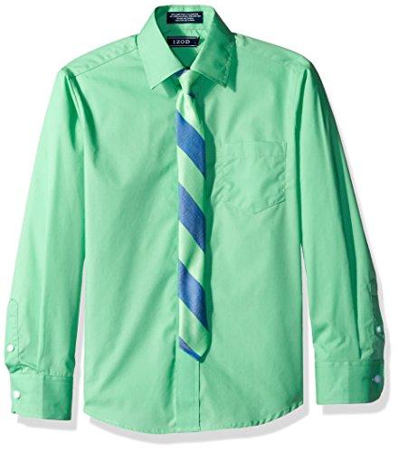 Izod Button Down Dress Shirt - 7