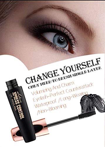 4D Silk Fiber Lash Mascara, Fiber Mascara,Extra Long Lash Mascara and Thick,Waterproof,Lasting All Day, Smudge Proof Eyelashes-3Pack