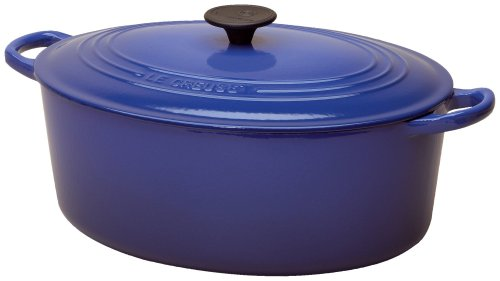 Le Creuset Enameled Cast-Iron 8-Quart Oval French Oven, Cobalt
