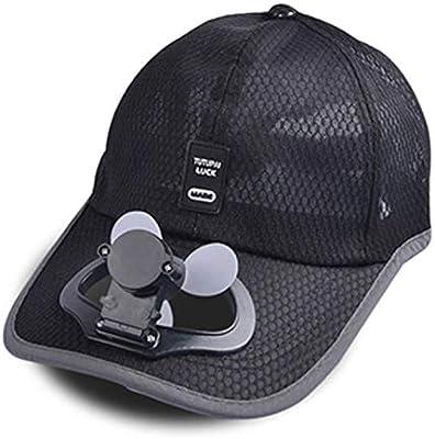 ANFF-Cap Ventilador Sombrero De Refrigeración USB De Carga Al Aire ...