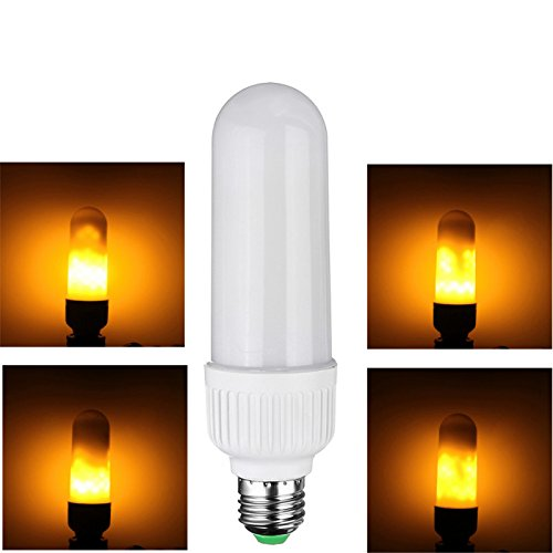 Outdoor Flickering Candle Light Bulbs - 4