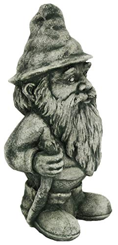 Gnome Statue Hiking Home and Garden Gnomes Statues Yard Decor Concrete Figures Cement Outdoor Garden Elf
