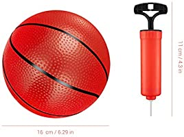 Surenhap 4 Pcs Balón de Baloncesto Pelotas Niños Juego Pelota ...