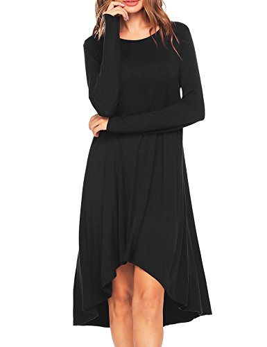 high low hem maxi dress - 6