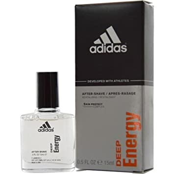 439182ad6a74 Amazon.com: Adidas Deep Energy by Coty for Men 0.5 oz After Shave ...