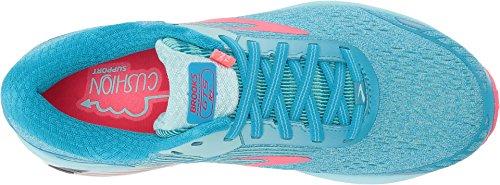 Brooks Damen Adrenaline GTS 18 Overpronation Stablility Laufschuh Blau / Mint / Pink