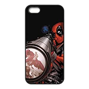 Deadpool Marvel Design Solid Hot Design Customized Cover Case for iPhone 5 5s 5s-linda458